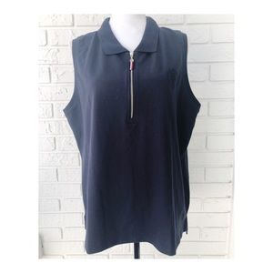 Tommy Hilfiger Navy Sleeveless Sail Away Top